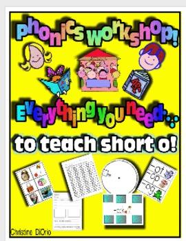 Phonics Workshop - Short o - everything you need!