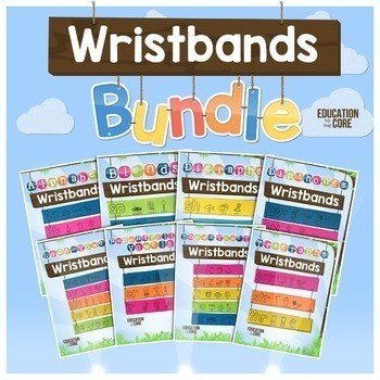 Phonics Wristbands Bundle
