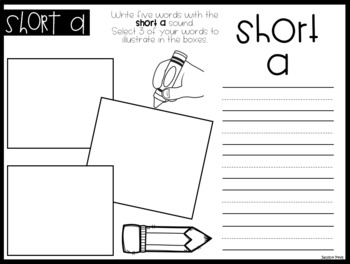 Phonics Write & Draw BUNDLE