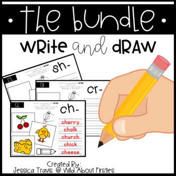 Phonics Write & Draw BUNDLE