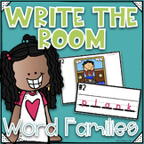 Phonics Write the Room~ 'A' Word Families- Orton Gillingham Style