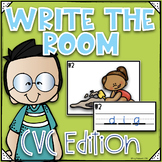 Phonics Write the Room~ CVC Write the Room- Orton Gillingham Style