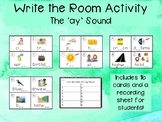 Phonics Write the Room: Long 'ay' Sound