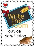 Phonics Write the Room oa ow