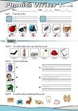 Phonics Writer 1 Student Book and Teacher's Manual