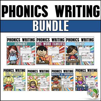 Phonics Writing Worksheets Bundle