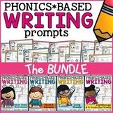 Phonics Writing Prompts Bundle