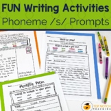 Phonics Writing Prompts for the /s/ Sound | Reading Spelli