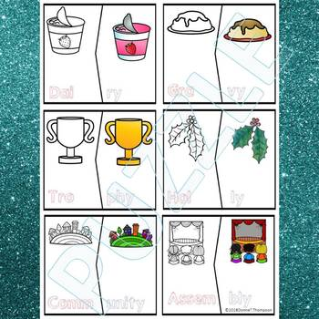 "Phonics ""Y as Long E and I Vowel Words"" (Puzzle Cards)"