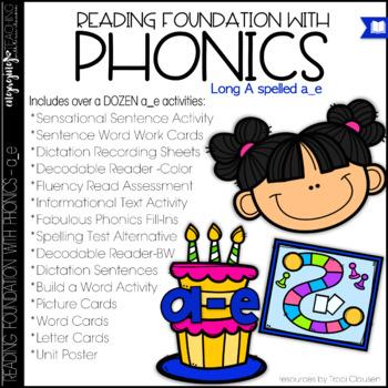 Phonics - LONG A - a_e - Reading Foundation with Phonics