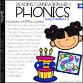 Phonics - LONG A - a_e - Reading Foundational Skills
