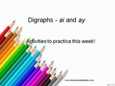 Phonics - ai and ay