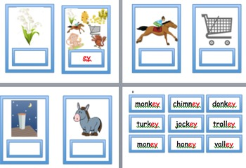 Phonics alternative sound ey  Year 1 screen