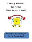 Phonics and Parts of Speech for Fiction
