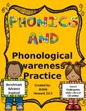 Phonics and Phonemic Awareness Practice (Benchmark Advance Inspired)