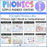 Phonics and Sentences Back To School MEGA Bundle 1 Literac