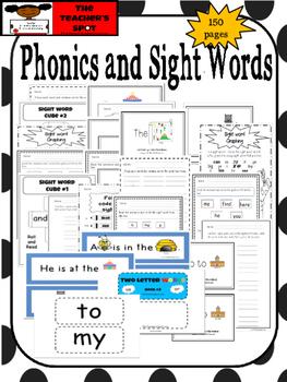 Phonics and Sight Word Bundle