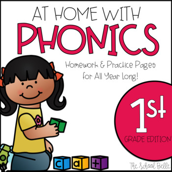 Phonics and Spelling Pattern Homework and Practice Pages for All Year