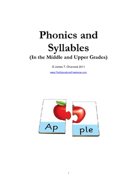 Phonics and Syllables in the Middle and Upper Grades--Another Approach