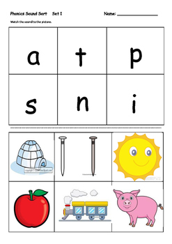 Phonics and Word Blending Activities