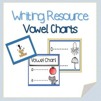 Phonics and Writing-Vowel Charts