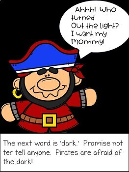 Phonics 'ar', My Substitute Teacher is a Pirate!  Slide Show and 'ar' BINGO game