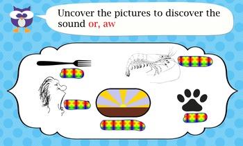 Phonics 'aw' 'or'