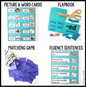 Phonics by Design CVCe Words + Inflectional Ending -ED Mini Unit