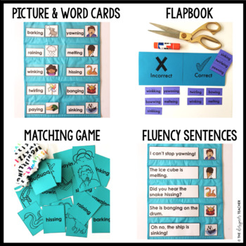 Phonics by Design Adding Inflectional Ending -ING Mini Unit