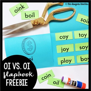 OI OY Sort Flapbook Flapbook FREEBIE