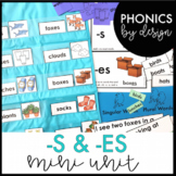 Phonics by Design Plural Words with Inflectional Endings -S & -ES Mini Unit