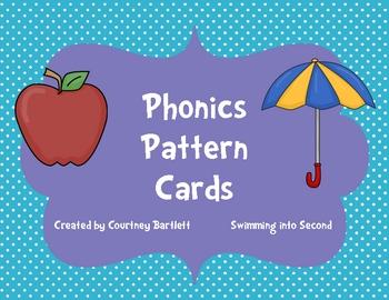 Phonics cards