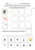Phonics cvc words with pictures EAL / ESL / ELL and Native English Speakers
