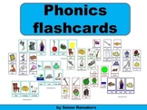 Phonics flashcards