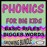 Phonics for Big Kids Growing Bundle
