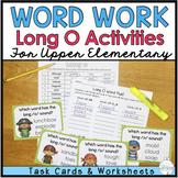 Phonics for Older Students - Long O Task Cards