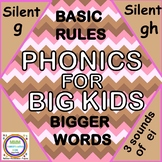Phonics for Big Kids Silent G, GH