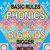 Phonics for Big Kids- Silent W & K