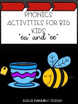 Phonics for Big Kids (ea/ee)