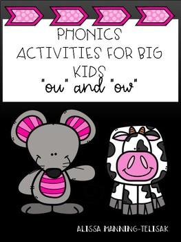 Phonics for Big Kids (ou/ow)