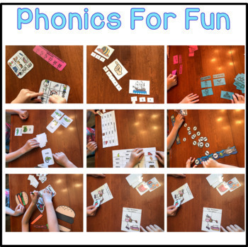 Phonics for Fun - Guided Reading Games