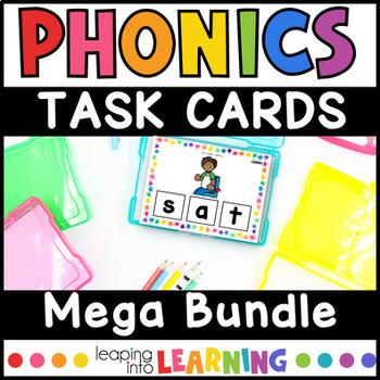Fun Phonics Games (task cards)- HUGE growing bundle!
