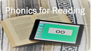 Phonics for Reading 1 Lesson 1 short a sound -SMART Notebook lessons for tablets