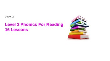 Phonics for Reading Level 1 and 2 Powerpoint