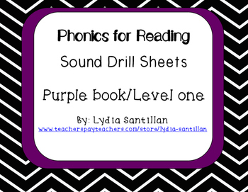 Phonics for Reading- Level One- Sound Drills