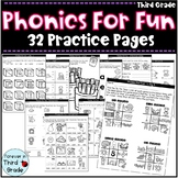 Phonics for Third Grade: Practice Pages