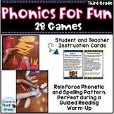Phonics for Third Grade: Games