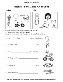 Phonics for ESL Beginners and Struggling Readers: Soft C, Soft G, Silent letters
