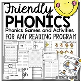 Phonics Worksheets Games and Activities to Send Home with
