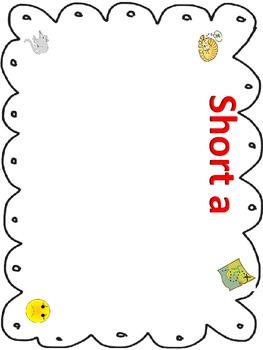 Phonics fun- Short vowels CVC words a,e,i,o,u